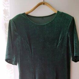 Платья - Платье винтаж бархат стрейч 42 44 S M М, 0