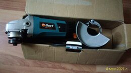 Шлифовальные машины - Углошлифмашина Bort BWS 1000-R, 0