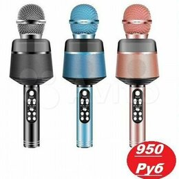 Микрофоны и усилители голоса - Колонка-микрофон (Q008), 0