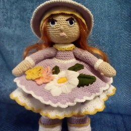 Сувениры - Вязаная кукла, 0