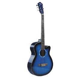 Акустические и классические гитары - Solista SO-3910 BLS Гитара акустическая 39, цвет синий бёрст, 0