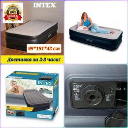 Надувная мебель - Надувные кровати матрасы Intex Air односпальные…, 0