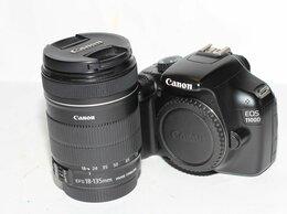 Фотоаппараты - Canon 1100D kit 18-135, 0