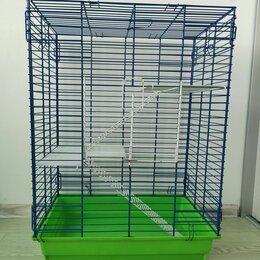 Клетки и домики  - Клетка для шиншиллы, хорька, крупных грызунов. Б/у, 0