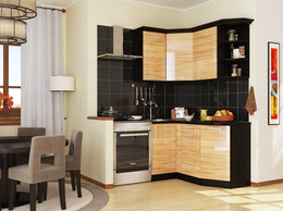 Мебель для кухни - Кухня Сакура, угловой модуль, 0