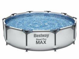 Бассейны - Каркасный бассейн Steel Pro Max 305х76см, 4678л, 0