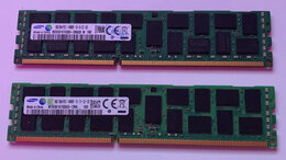 Модули памяти - 16GB Samsung 2x8 GB 1866Mhz DDR3 ECC, 0