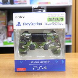 Игровые приставки - Джойстик Playstation PS4 Dualshock 4 Green Camouflage, 0