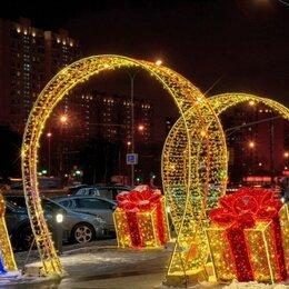 Новогодний декор и аксессуары - Светодиодная Арка LUX 320 см (цвет на выбор), 0