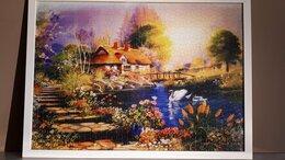 """Картины, постеры, гобелены, панно - Картина из пазлов """"Сказочный пейзаж """", 0"""
