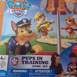 Настольные игры - Станция щенячий патруль в коробке ., 0