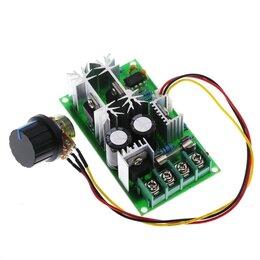 Радиодетали и электронные компоненты - Мощный 20А шим регулятор оборотов мощности мотора, 0