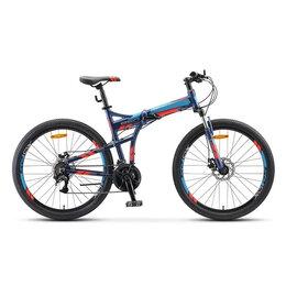 """Велосипеды - Горный велосипед (гибрид) Stels - Pilot 950 MD 26"""" V011 Темно-Синий, 0"""