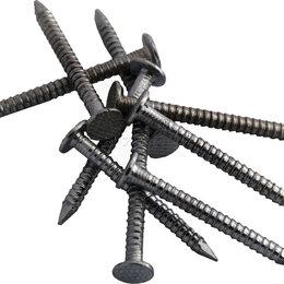 Гвозди - Гвозди ершенные оцинкованные Шинглас (45*3,5 мм, удлинненые) Для мягкой кровли, 0