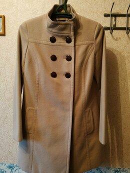 Пальто - Пальто бежевое, 0