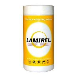 Бытовая химия - Чистящие салфетки Lamirel д/поверхн оф.техн туб10, 0