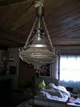 Люстры и потолочные светильники - люстра антикварная на цепях, 0