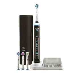 Зубные щетки - Зубная щетка Braun Oral-B Genius 9000/D701.545.6XC Black, 0
