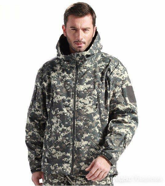 Куртка утепленная SoftShell тактическая. Р. 54-56 по цене 2777₽ - Одежда и обувь, фото 0