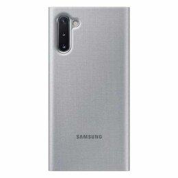 Чехлы - Чехол Samsung LED View Cover Note10 Grey, 0