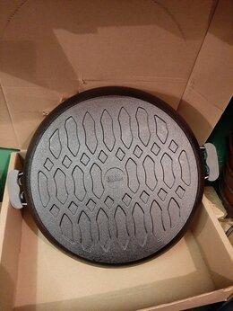 Сковороды и сотейники - сковорода чугунная биол жаровня 40 см, 0