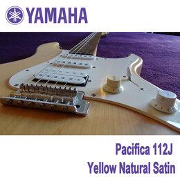 Электрогитары и бас-гитары - YAMAHA Pacifica 112J YNS: Yellow Natural Satin…, 0