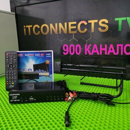 ТВ-приставки и медиаплееры - Цифровое тв \ Интернет 900 каналов Телевидение F-8, 0