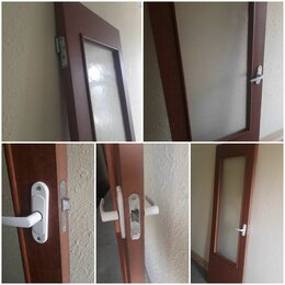 Межкомнатные двери - Дверь межкомнатная правая рифленое стекло, 0