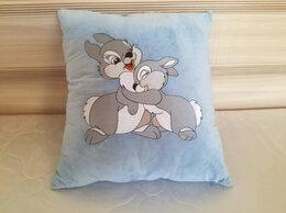 Декоративные подушки - Зайка. Декоративная подушка с машинной вышивкой, 0
