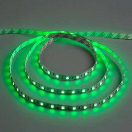 Светодиодные ленты - Светодиодная (LED) лента, 12В, зеленая, 0