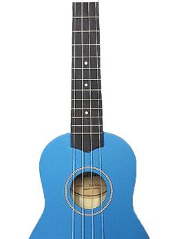 Укулеле - VESTON KUS 15BL Укулеле сопрано, голубая, 0