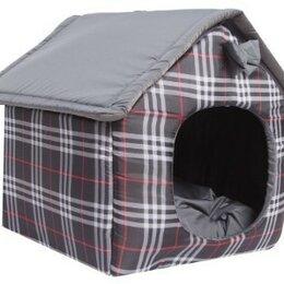 Лежаки, домики, спальные места - домик мягкий для собак и кошек Lion Manufactory(M), 0
