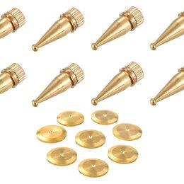 Кронштейны и стойки - Шипы и диски для акустических систем (8+8 штук), 0