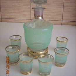 Кувшины и графины - Винтажный набор для крепкого алкоголя., 0