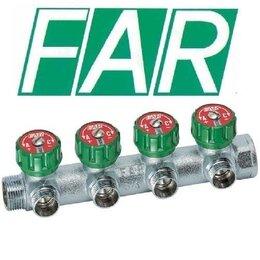 Коллекторы - Коллекторы FAR 3/4 X 1/2 за один выход , 0