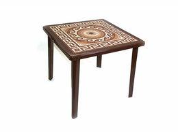 Столы и столики - Стол Греческий орнамент с деколем, 0