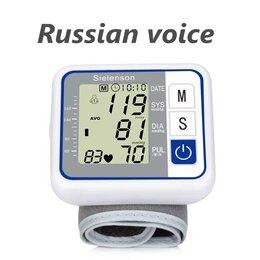 Приборы и аксессуары - Тонометр для измерения пульса с голосовым…, 0