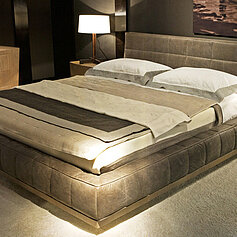 Кровати - Кровать с мягким изголовьем, 0