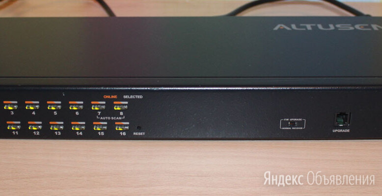 16-портовый IP KVM-переключатель Aten KH1516i по цене 5000₽ - Аксессуары для серверов, фото 0