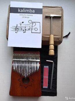 Щипковые инструменты - Калимба и молоточек по отдельности или вместе, 0