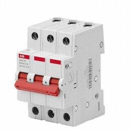 Защитная автоматика - Автомат (выключатель нагрузки) ABB 40А, 0