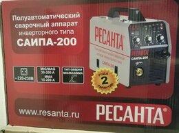 Сварочные аппараты - Сварочный полуавтомат Ресанта САИПА 200, 0