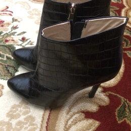 Ботильоны - Новые !!!39 размер на 38 ногу, чистая кожа !!! Каблук 11 см , 0