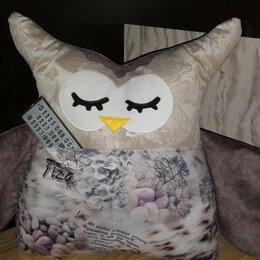 Декоративные подушки - Диванная подушка сова, 0