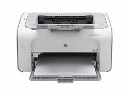 Принтеры и МФУ - Принтер HP LaserJet P1102, 0