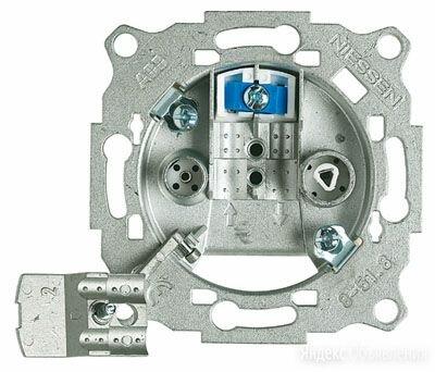 Механизмы розеток Olas/Tacto ABB / АББ NIE 8150.3 Механизм TV-R розетки с фил... по цене 807₽ - Электроустановочные изделия, фото 0
