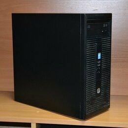 Настольные компьютеры - Системный блок HP Corei3-4160/4GB/500GB, 0