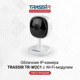 Камеры видеонаблюдения - Облачная Wi-Fi камера Trassir TR-W2C1, 0