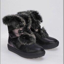 Ботинки - KENKÄ Ботинки для девочки бронзовые, 0