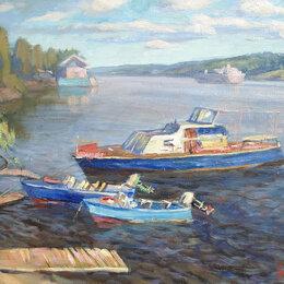 Картины, постеры, гобелены, панно - Лодки в Плёсе, 0